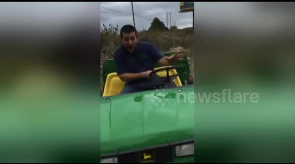 Man runs over his friend as he loses control of buggy