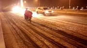 Heavy snow in southern China