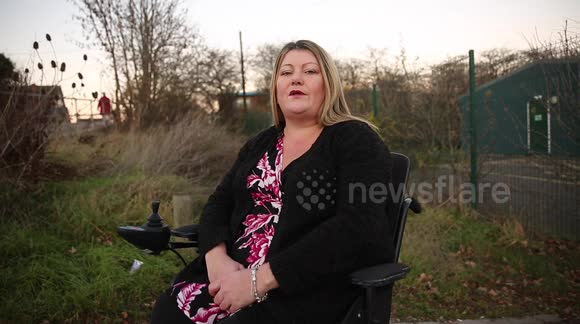 Disabled mum helps catch sex fiend by tackling him in her wheelchair