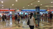 People are busy in a shopping mall in Vietnam on holiday