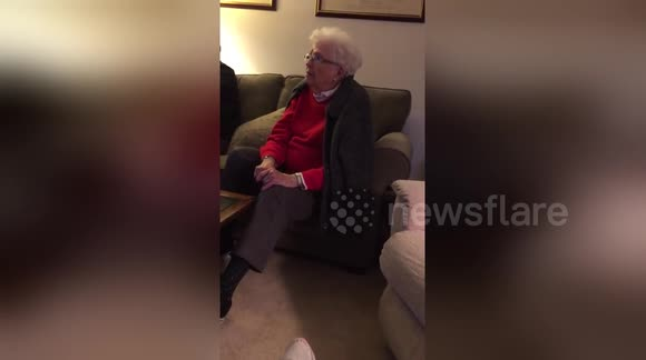 Newsflare Edit - Showing my grandma The Empire Strikes Back's ending for the first time