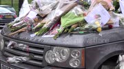 George Michael's car becomes shrine