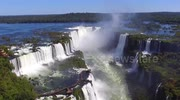 Stunning aerial views of Iguazu Falls