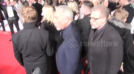 Newsflare - Tom Jones and his son Mark Woodward are spotted out for
