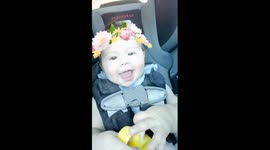 Newsflare - Exploding Baby Snapchat Filter